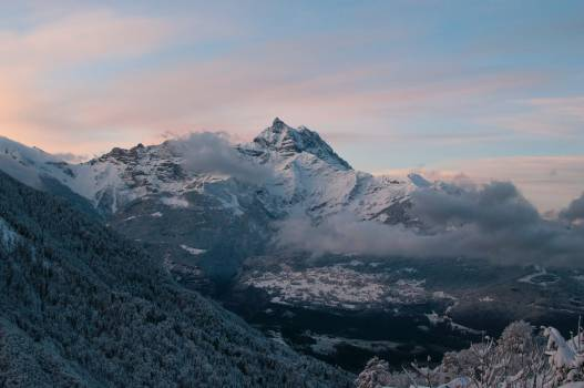 Mountain Range Glacier #382350