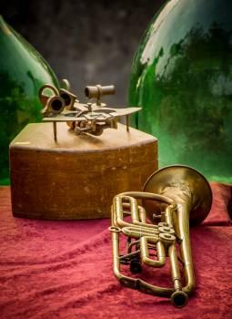Brass Cornet Wind instrument #383262
