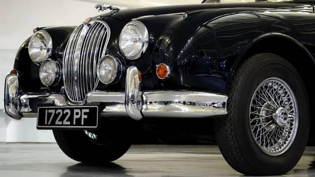 Black Vintage Car Free Photo