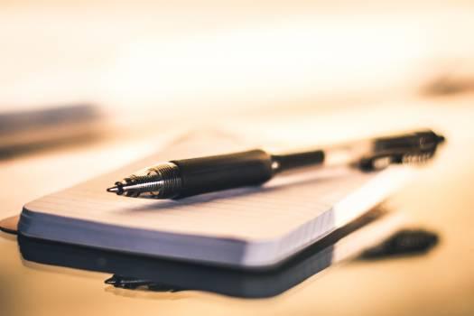 Pen Notebook Office #383324