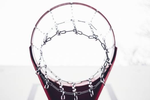 Basketball hoop and a backboard Free Photo