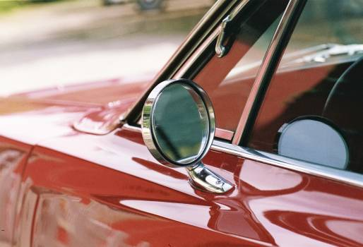 Vintage red classic car Free Photo