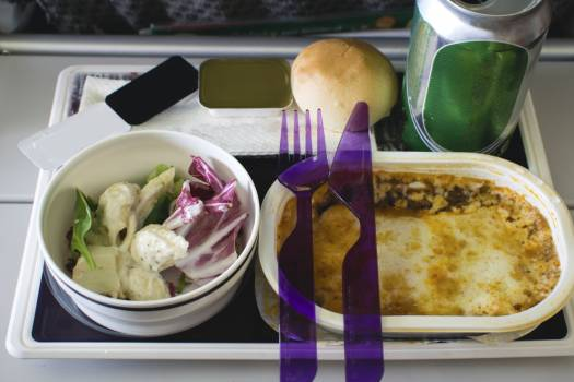 Airline meal #384590