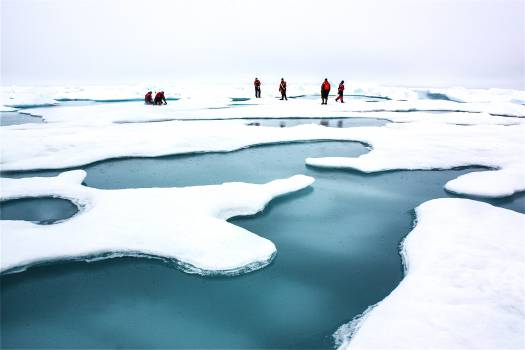 The terrain for the scientific work conducted by ICESCAPE scientists on July 4, 2010. Original from NASA.  Free Photo