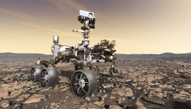 NASA's Mars 2020 rover artist's concept #6. Nov 17th, 2017. Original from NASA.  #385222