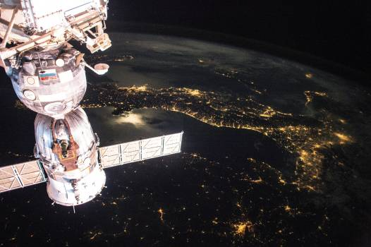 Earth observation taken by the Expedition 43 crew ISS043. Original from NASA .  Free Photo
