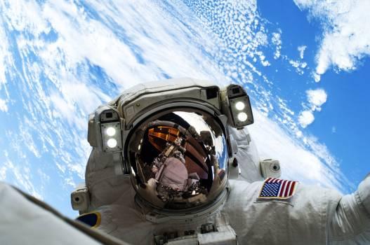 NASA astronauts in space - Dec 24th, 2013. Original from NASA.  Free Photo