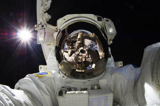 NASA astronauts in space - Sept 5th, 2012. Original from NASA.  Free Photo