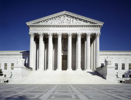 United States Supreme Court Building. Original image from Carol M. Highsmith's America, Library of Congress collection.  #385982