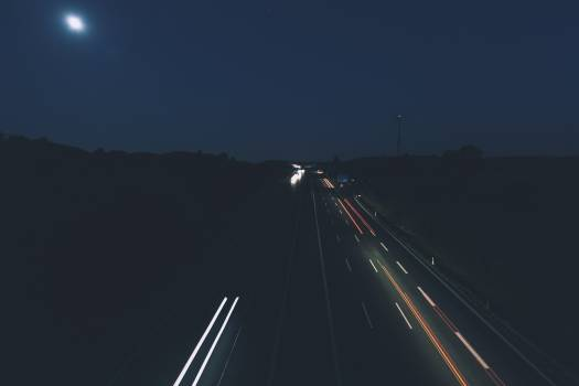 Highway at night time #386181