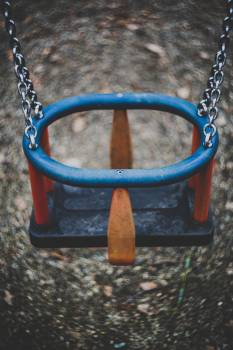 A swing at a playground #386199
