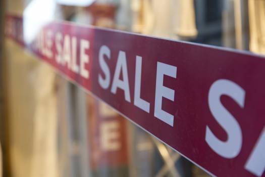 Sale at a big store #386211