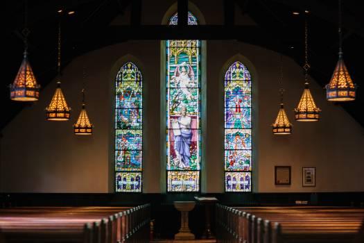 Church windows lights front lights #38640