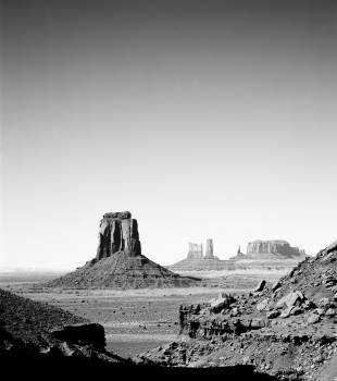 Monument Valley, Arizona. Original image from Carol M. Highsmith's America, Library of Congress collection.  Free Photo
