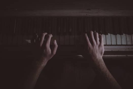 Hands music musician piano #38749