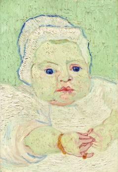Roulin's Baby (1888) by Vincent Van Gogh. Original from The National Gallery of Art.  Free Photo