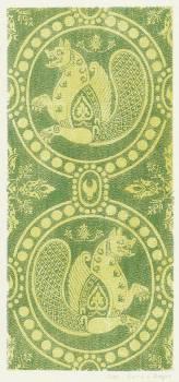 Silk fabrics, 13th century (1857–1864) by anonymous. Original from The Rijksmuseum.  #387967