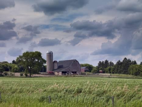 Barn, rural North Dakota (2008) by Carol M. Highsmith. Original image from Library of Congress.  #388233