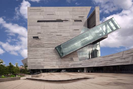 The Perot Museum of Nature and Science in Dallas. Originally housed in three buildings at Fair Park, site of the 1936 Texas Centennial commemoration, the museum's principal location was moved to a new location at Victory Park (a second campus remained on  #388371
