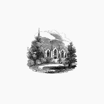 Ledbury church from Continuation of Journals in the years 1824, 25, 27, 28, and 29 (1830). Original from the British Library.  Free Photo