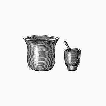 Kitchenware from Portuguese Expedition to Muatianvua Ethnographia and Traditional History of the People of Lunda... Edition Illustrated by H. Casanova (1890). Original from the British Library.  Free Photo