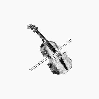Violin from Gerard Mastyn, the son of a genius (1877) published by Edwin Harcourt Burrage. Original from the British Library.  Free Photo