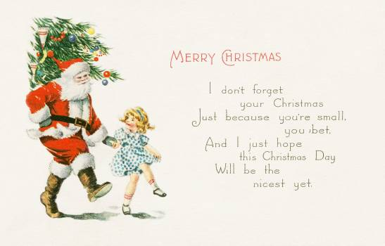Merry Christmas (1921) from The Miriam And Ira D. Wallach Division Of Art, Prints and Photographs: Picture Collection published by Gibson Art Company. Original From The New York Public Library.  Free Photo