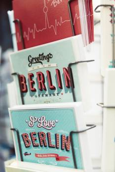 Greetings Berlin Germany Free Photo
