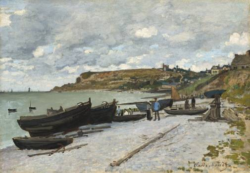 Sainte-Adresse (1867) by Claude Monet. Original from the National Gallery of Art.  Free Photo
