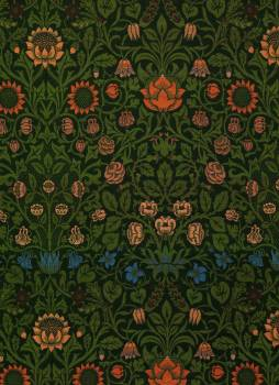 Violet and Columbine by William Morris (1834-1896). Original from The MET Museum.  Free Photo