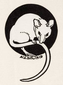 Mouse (1919) by Julie de Graag (1877-1924). Original from The Rijksmuseum.  Free Photo