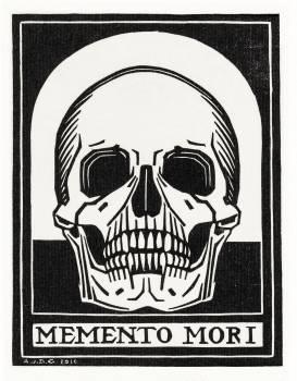 Memento mori (1916) by Julie de Graag (1877-1924). Original from The Rijksmuseum.  #391560