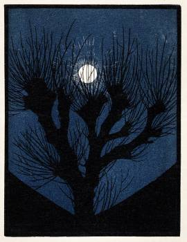 Moon Light (1920) by Julie de Graag (1877-1924). Original from The Rijksmuseum.  #391661