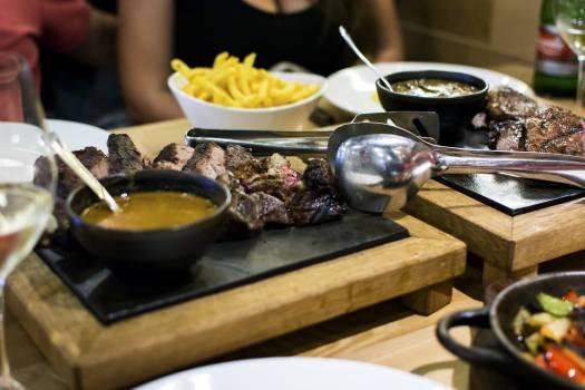 Juicy medium steak for lunch #391784