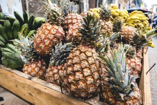 Cuban pineapples and bananas #391863