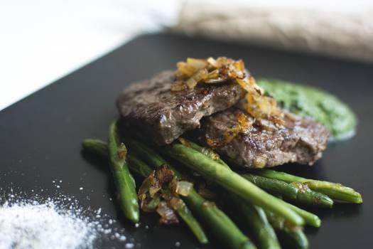 A fresh paleo steak closeup #392211