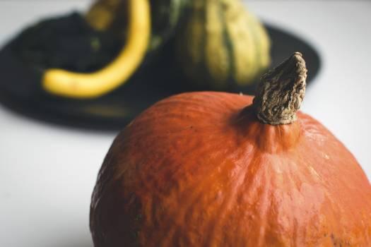 Closeup of pumpkins for decoration #392229