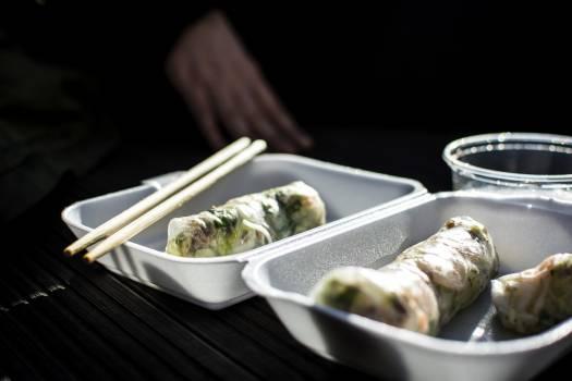 Takeaway Vietnamese fresh spring rolls #392265