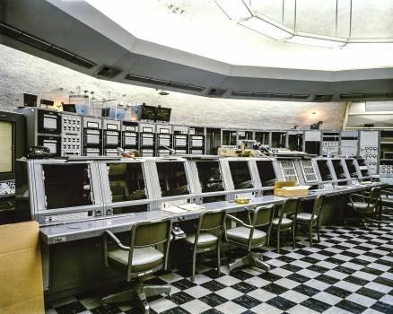 NASA:Saturn, Pad 34, blockhouse interiors. Original from NASA.  #392396