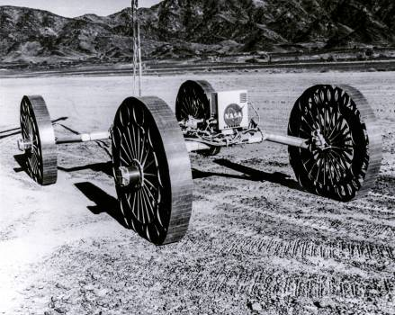 Mobility Test Article built by the Bendix Corporation for NASA's Marshall Space Flight Center. Original from NASA.  #392448