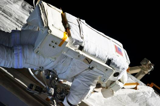 NASA astronauts in space - Original from NASA.  #392641