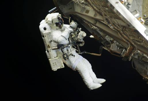 NASA astronauts in space - Original from NASA .  Free Photo