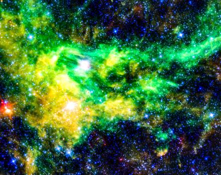 Image of a nebula taken using a NASA telescope - Original from NASA.  #392706
