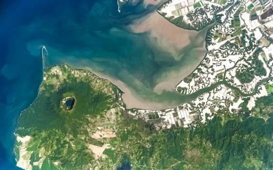 Cosiguina Volcano, Nicaragua. Original from NASA.  Free Photo