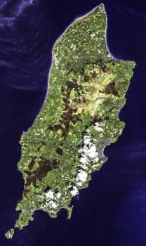 The Isle of Man. Original from NASA.  #393171