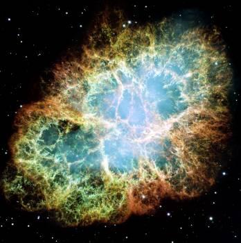 Image of a nebula taken using a NASA telescope - Original from NASA.  Free Photo