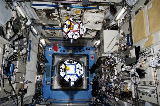 SPHERES Zero Robotics Session onboard the International Space Station, May 23rd, 2013. Original from NASA .  #393354
