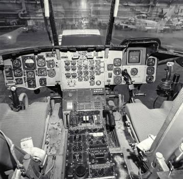 CH-47 (NASA-737) Control Panel and Cockpit. Original from NASA.  #393471