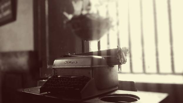 Type Writer on Table #39356