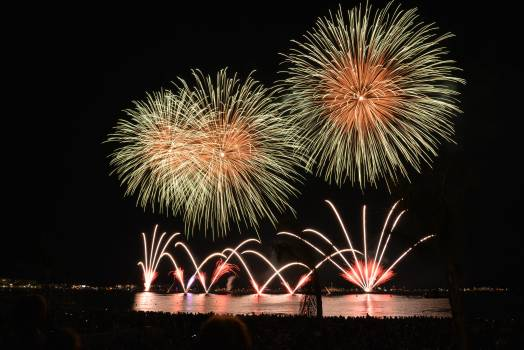 Yellow Orange and Red Fireworks during Nighttime #39421